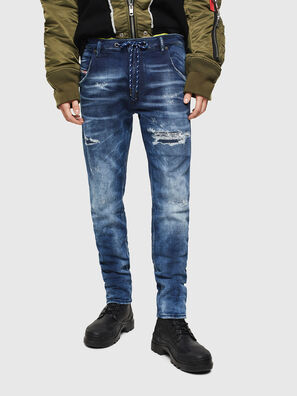 Krooley JoggJeans 0097N, Bleu Foncé - Jeans