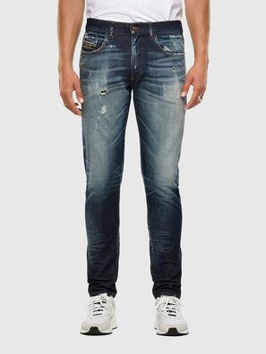 D-Strukt 0092I, Bleu Foncé - Jeans