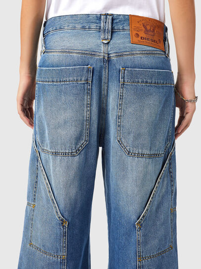 Diesel - D-Laly 0AFAM, Bleu moyen - Jeans - Image 4