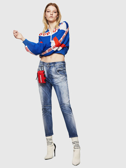 Diesel - Fayza JoggJeans 0870N, Bleu moyen - Jeans - Image 5