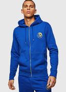 UMLT-BRANDON-Z, Bleu Brillant - Pull Cotton
