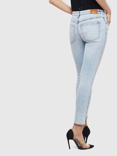 Diesel - Babhila 009AC, Bleu Clair - Jeans - Image 2