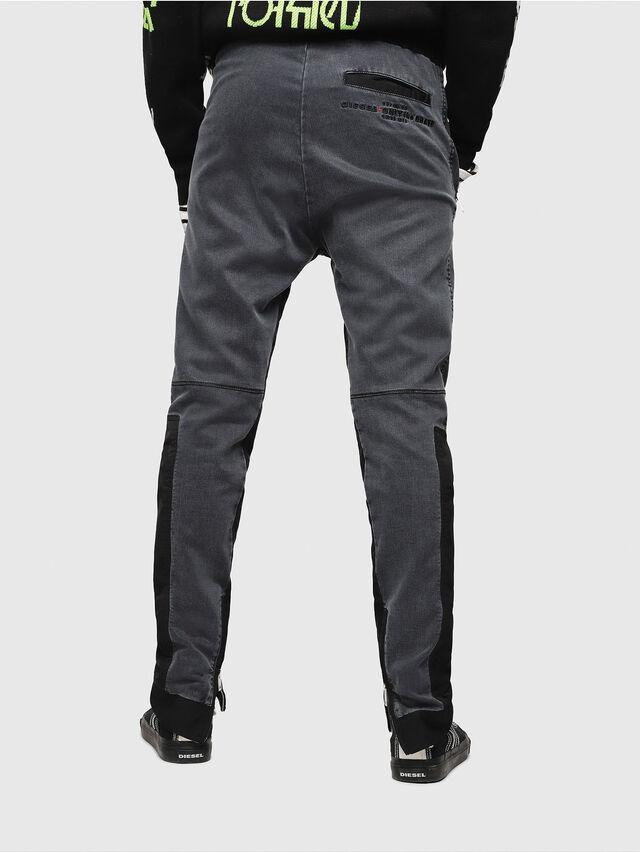 Diesel - D-Eeley JoggJeans 0LAUH, Noir/Gris foncé - Jeans - Image 2