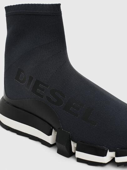Diesel - H-PADOLA HIGH SOCK W, Noir - Baskets - Image 4