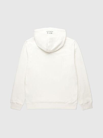 Diesel - VE-S-GIRK-HOOD-RIALT, Blanc - Pull Cotton - Image 2