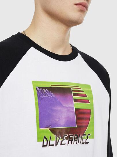Diesel - T-RODDI, Blanc/Noir - T-Shirts - Image 3