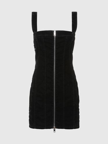 Mini-robe en JoggJeans® velours