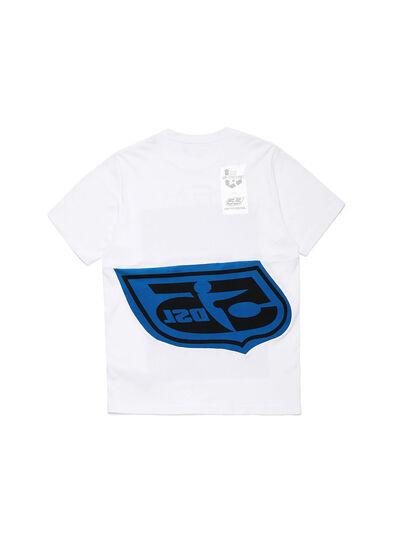 Diesel - D-SHIELD-BLU, Blanc - T-Shirts - Image 2