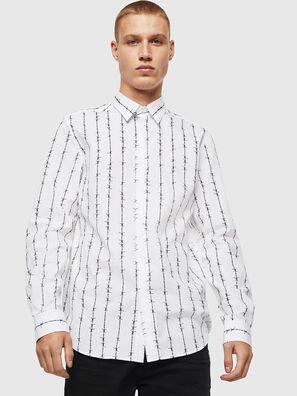 S-BARBWI, Blanc - Chemises