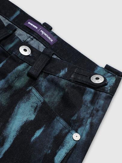 Diesel - PR-PT03A, Bleu Foncé - Pantalons - Image 4