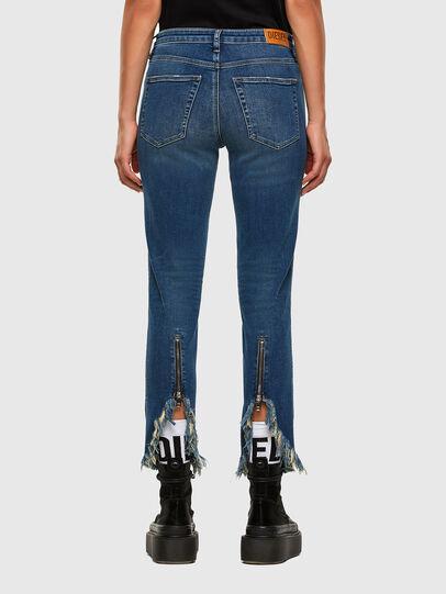 Diesel - Babhila-Zip 009EZ, Bleu moyen - Jeans - Image 2