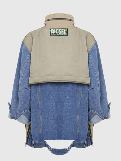 Diesel - G-CLARICE, Beige/Bleu - Vestes - Image 2