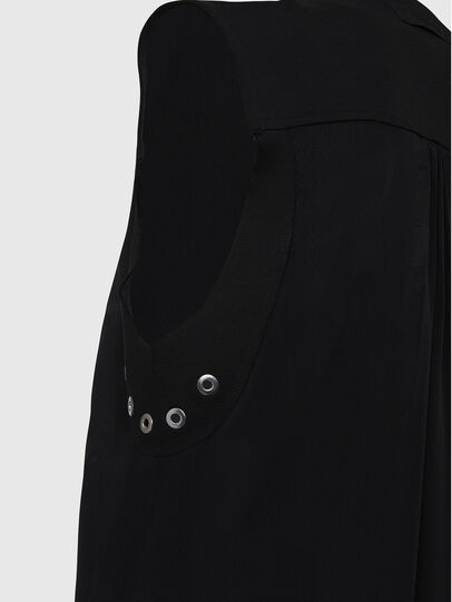 Diesel - D-EVEN-A, Noir - Robes - Image 4