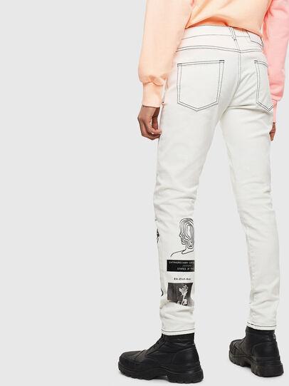 Diesel - D-Strukt 009BF, Blanc - Jeans - Image 2