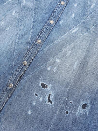 Diesel - DEARIN, Bleu Clair - Robes - Image 4