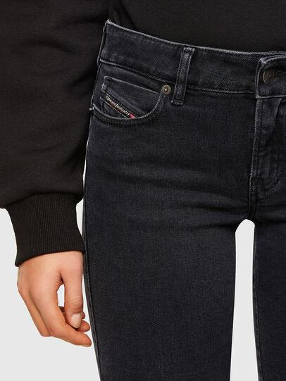 Diesel - D-Jevel 0870G, Noir/Gris foncé - Jeans - Image 3