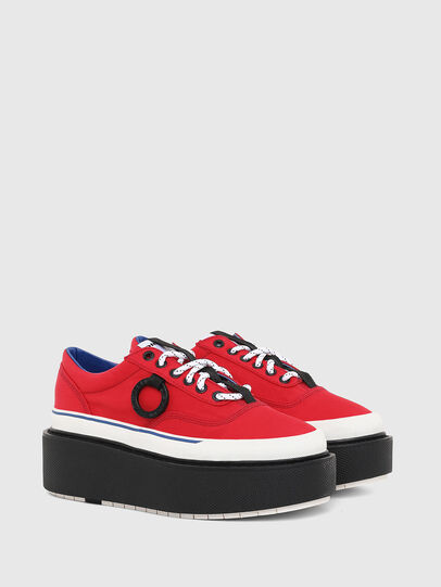 Diesel - H-SCIROCCO LOW, Rouge Flamme - Baskets - Image 2