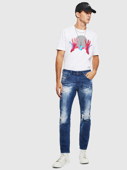 Diesel - Thommer JoggJeans 0099S, Bleu Foncé - Jeans - Image 6