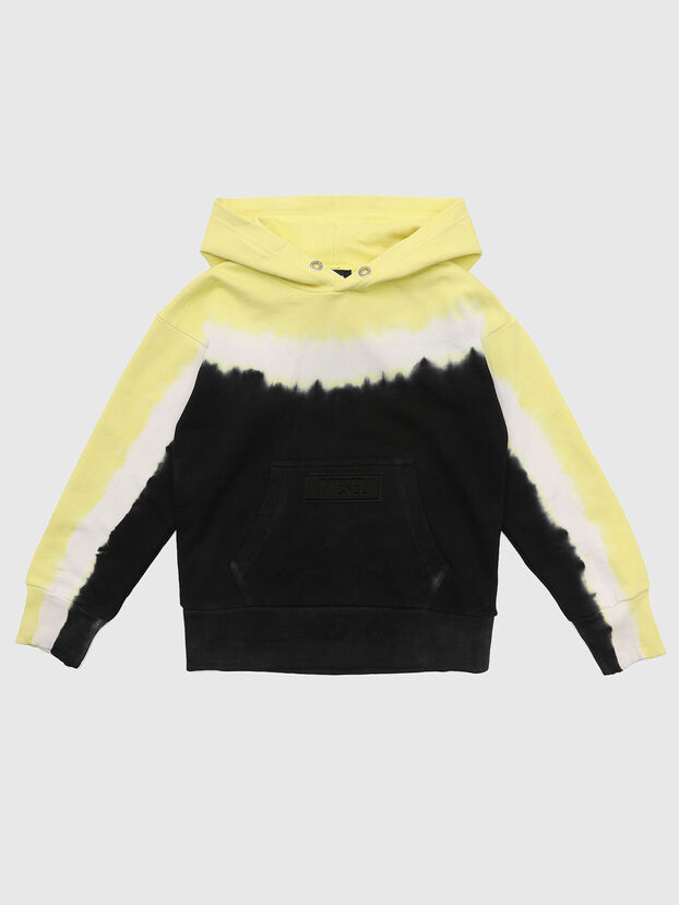 SALBYDEEP OVER, Noir/Jaune - Pull Cotton