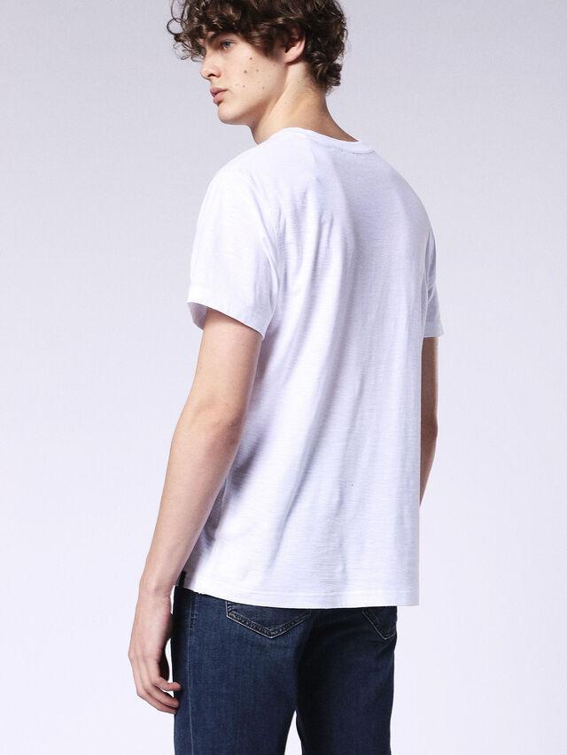 Diesel - T-RENE, Blanc - T-Shirts - Image 2