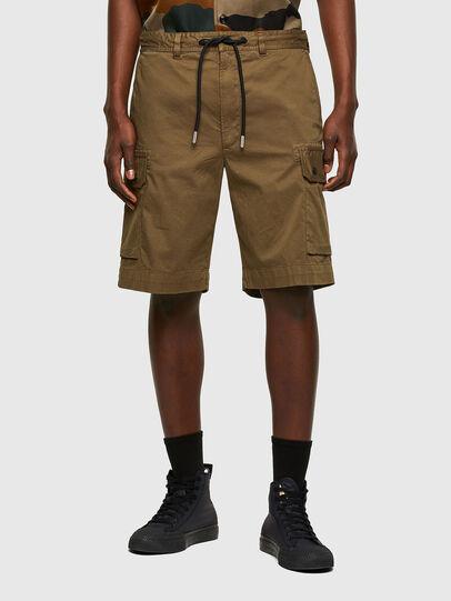 Diesel - P-APE, Vert Militaire - Shorts - Image 1