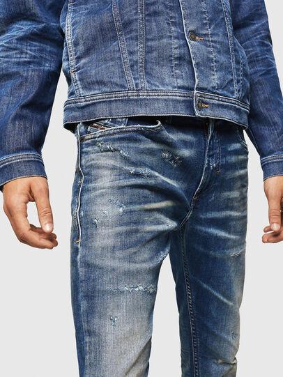 Diesel - Thommer JoggJeans 0870Q, Bleu moyen - Jeans - Image 3
