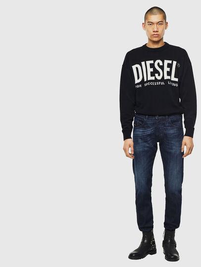 Diesel - D-Bazer 0095W, Bleu Foncé - Jeans - Image 5