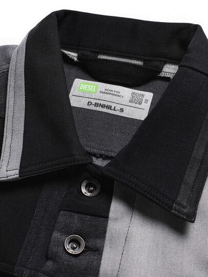 Diesel - D-BNHILL-S, Noir - Pull Cotton - Image 6