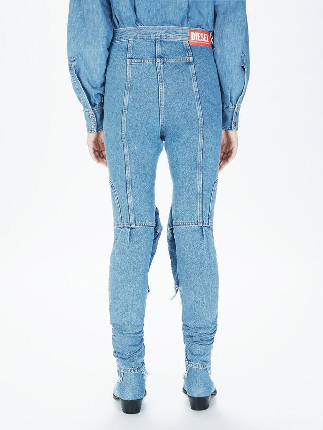 Diesel - SOJP01, Bleu Clair - Pantalons - Image 4