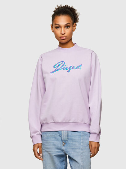Diesel - F-ANG-K15, Lilas - Pull Cotton - Image 1