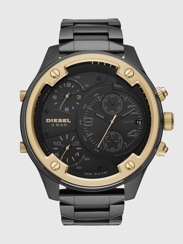 Diesel - DZ7418, Noir/Doré - Montres - Image 1