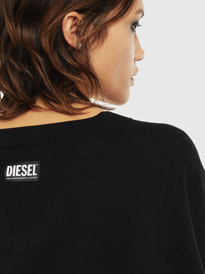 Diesel - M-OCIAME, Noir - Pull Maille - Image 5