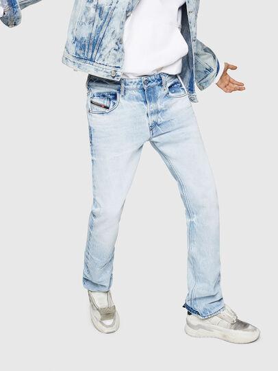 Diesel - D-Ligenz 0078C, Bleu Clair - Jeans - Image 1