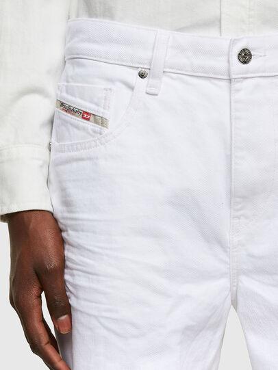 Diesel - D-STRUKT-SHORT, Blanc - Shorts - Image 3