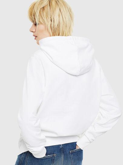Diesel - S-GIRK-HOOD-S1, Blanc - Pull Cotton - Image 4