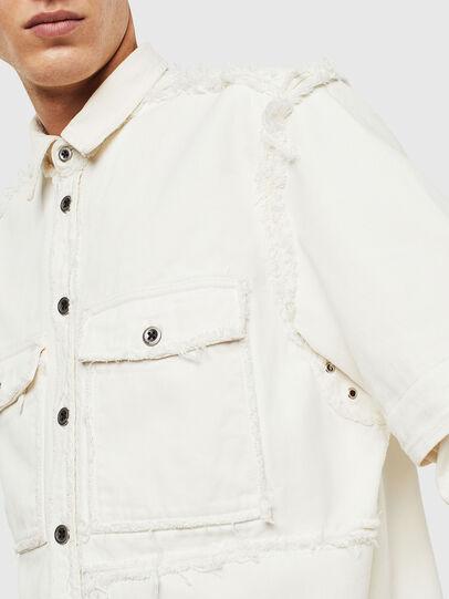 Diesel - D-KURTIS, Blanc - Chemises en Denim - Image 6