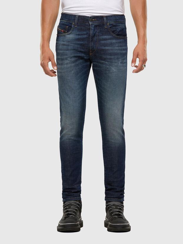 D-Strukt 009GQ, Bleu Foncé - Jeans