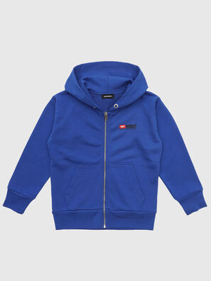 SALBYZIP OVER, Bleu - Pull Cotton