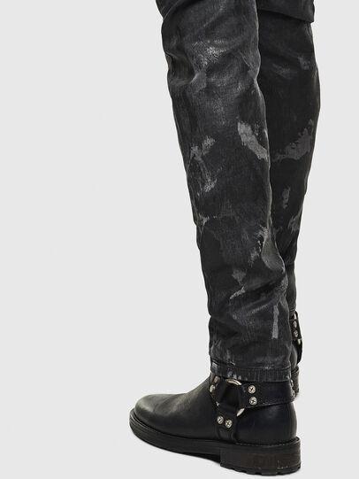 Diesel - Thommer JoggJeans 084AI, Noir/Gris foncé - Jeans - Image 5