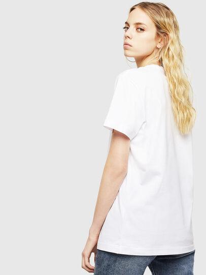 Diesel - T-DIEGO-DIV, Blanc - T-Shirts - Image 4