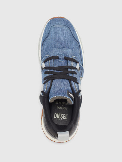 Diesel - S-BRENTHA WL, Jean Bleu - Baskets - Image 5