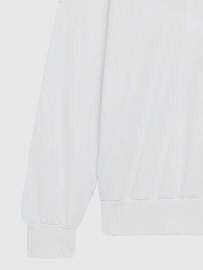 Diesel - S-GIR-DIVISION-LOGO, Blanc - Pull Cotton - Image 4