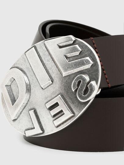 Diesel - B-METALROUND, Marron - Ceintures - Image 2