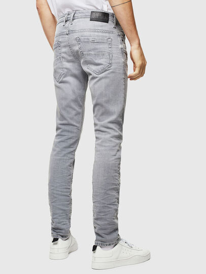 Diesel - Thommer 0890E, Gris Clair - Jeans - Image 2