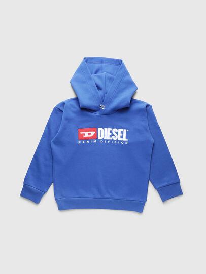 Diesel - SDIVISION OVER, Bleu Céleste - Pull Cotton - Image 1