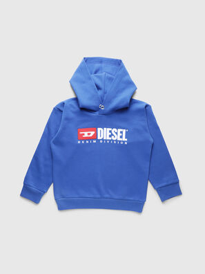 SDIVISION OVER, Bleu Céleste - Pull Cotton