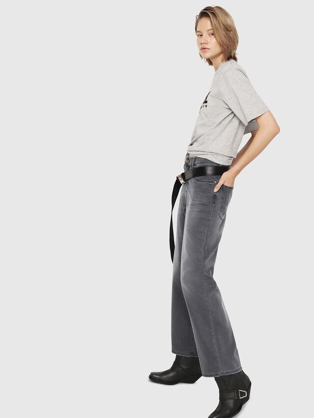 Diesel - Widee JoggJeans 069EH, Noir/Gris foncé - Jeans - Image 4