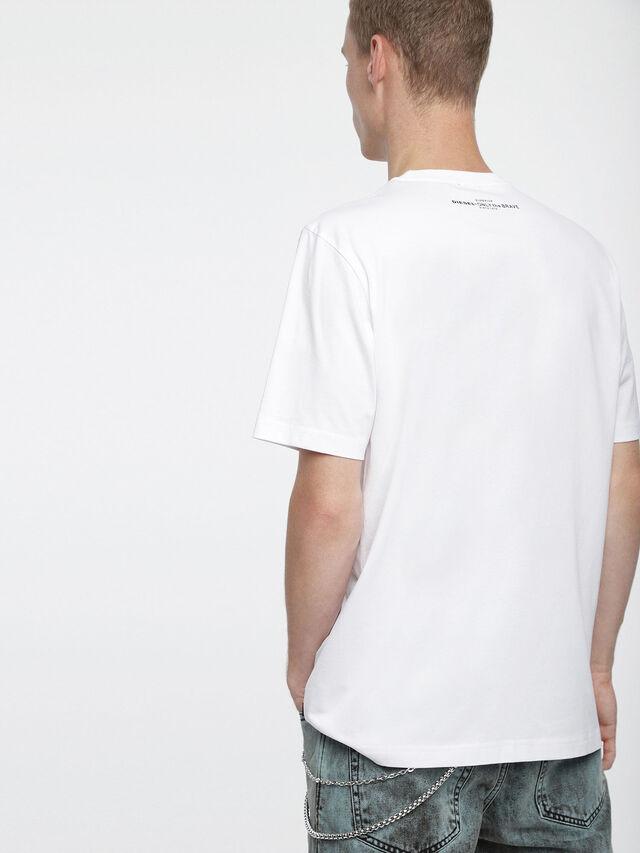 Diesel - T-JUST-XV, Blanc - T-Shirts - Image 2