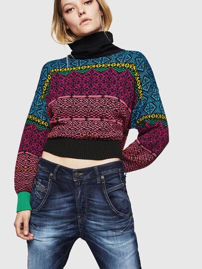 Diesel - Fayza JoggJeans 069IE, Bleu Foncé - Jeans - Image 3