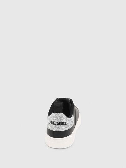 Diesel - S-CLEVER LOW LACE W, Noir/Gris argenté - Baskets - Image 5